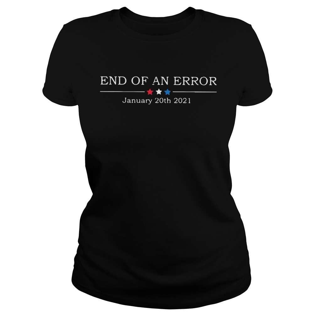 End Of An Error January 20th 2021  Classic Ladies