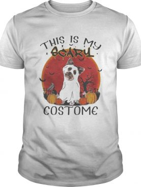 Halloween Yorkie This is my scary costome shirt