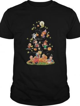 Halloween tree the peanuts pumpkin shirt