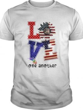 Independence day sunflower love feather one another shirt