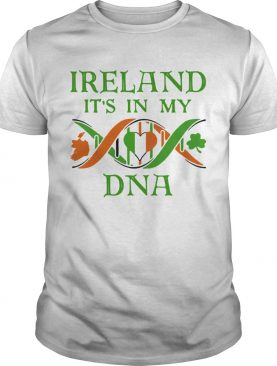 Official Ireland ItS In My DNA shirt