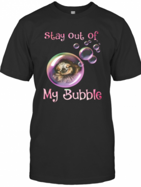 Sloth Sleeping Stay Out Of My Bubble Covid 19 T-Shirt