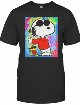 Snoopy And Woodstock Art T-Shirt
