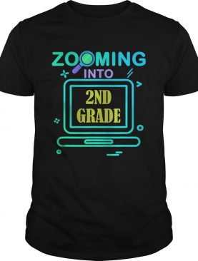 Zooming Into 2nd Grade Virtual Back to School second grade shirt
