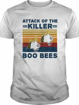 Attack of the killer boo bees vintage retro shirt