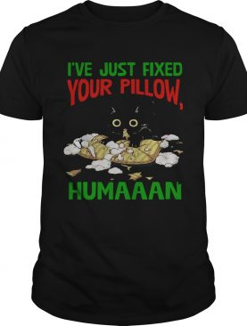 Cat Ive Just Fixed Your Pillow Humaaan shirt
