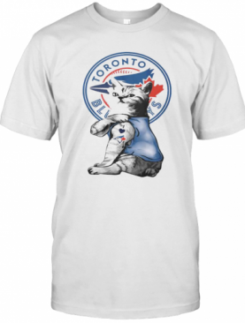 Cat Tattoos Toronto Blue Rays Logo T-Shirt