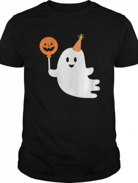 Cute Ghost With Candy Halloween Day 2020 shirt