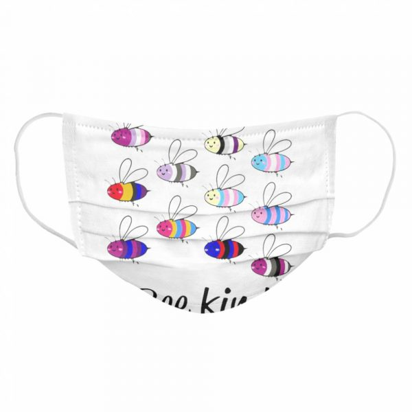 LGBT Bee Kind Gay Pride  Cloth Face Mask