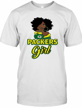 Packers Black Girl T-Shirt