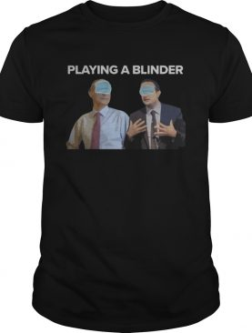 Playing a blinder joe biden mask shirt