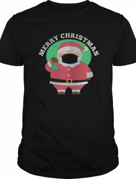 Santa Wearing Mask Quarantine Christmas 2020 shirt