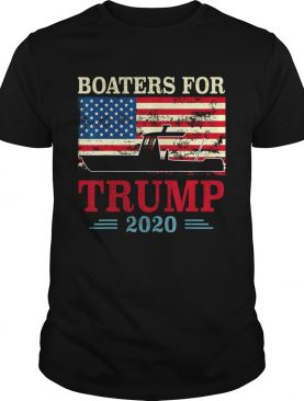 Supporters Boat Parade 2020 Boaters For Trump 2020 Trump shirt