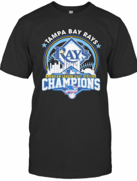 Tampa Bay Rays American League East Division Champions 2020 T-Shirt