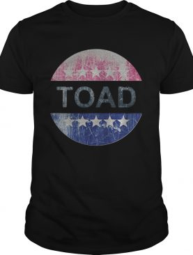 Toad for america stars vintage shirt