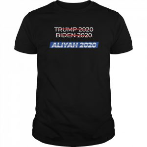 2020 Election Biden Trump Aliyah  Classic Men's T-shirt