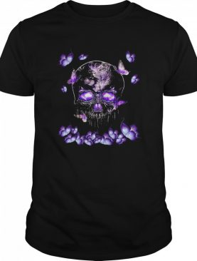 Butterfly Skull In Butterfly Magical shirt