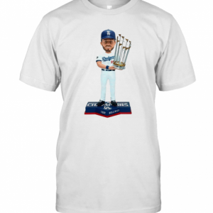 Cody Bellinger Los Angeles Dodgers 2020 World Series Champions T-Shirt Classic Men's T-shirt