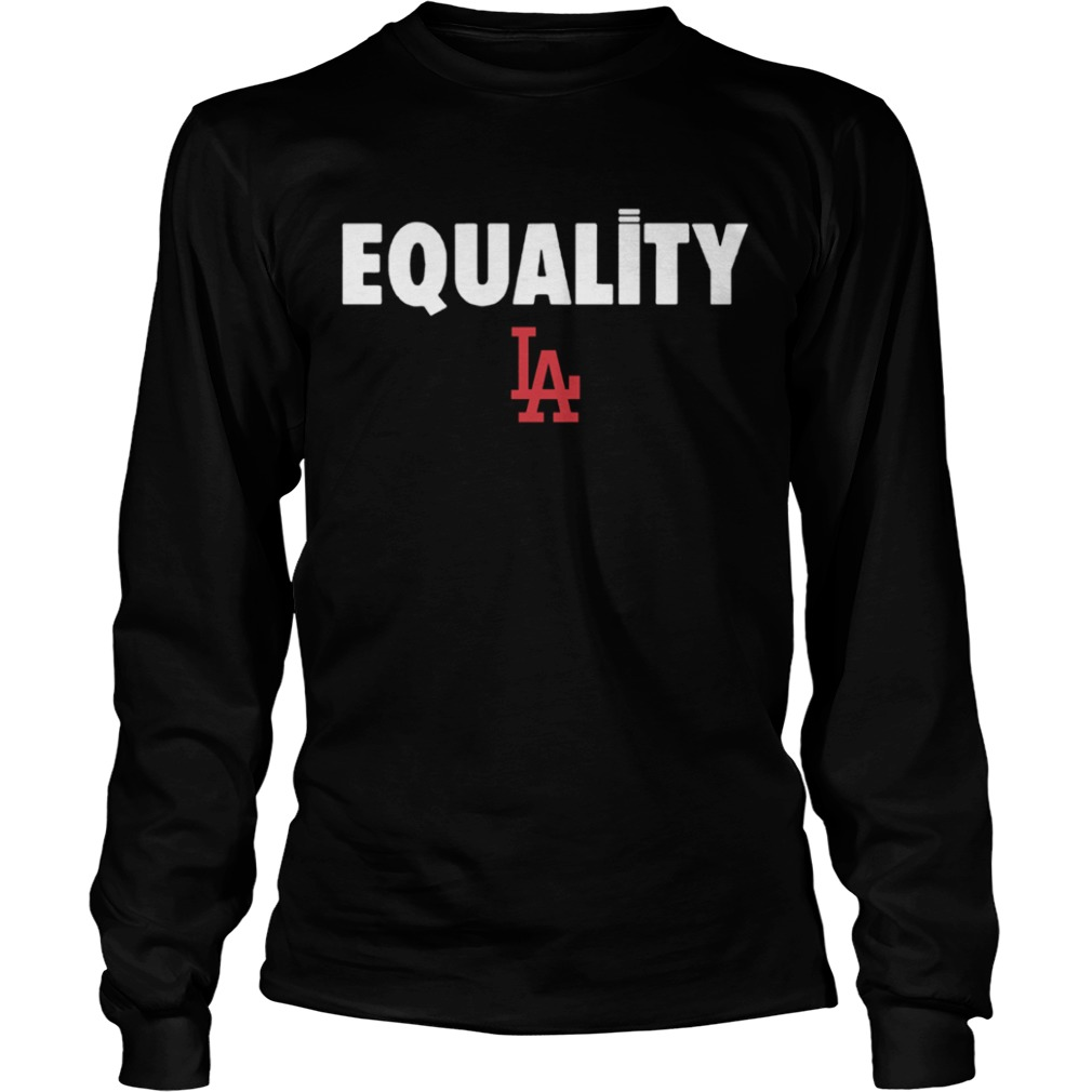 Equality Los Angeles Dodgers 2020  Long Sleeve