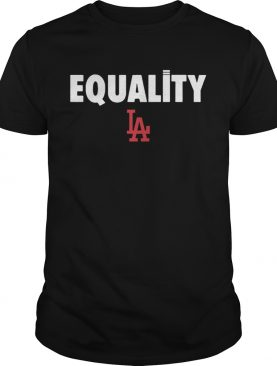 Equality Los Angeles Dodgers 2020 shirt