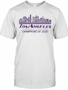 Los Angeles Champions Of 2020 Nba Western Conference T-Shirt