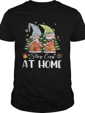 Merry Christmas Gnomies Stay Cosy At Home shirt