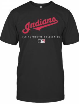 Mlb Authentic Collections Cleveland Indians T-Shirt