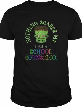 This is My Spooky School Counselor Costume Don't Scare Me shirt
