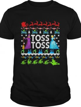 Toss toss Witch Merry Christmas shirt