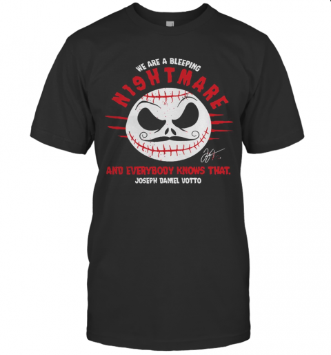 We Are A Nightmare Joey Votto T-Shirt Classic Men's T-shirt
