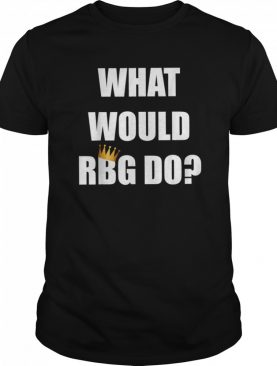 What would RBG do white top shirt