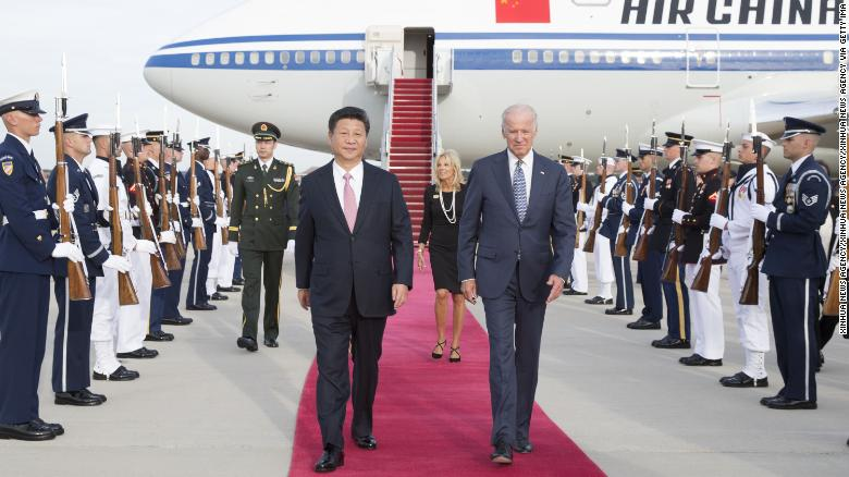China looms as Biden's biggest foreign policy challenge Here's where he stands