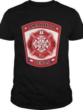 Amarillo Fire Department Texas Patch Image shirt