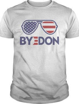 Byedon Funny Joe Biden Wins 2020 Election Sunglasses American Flag shirt