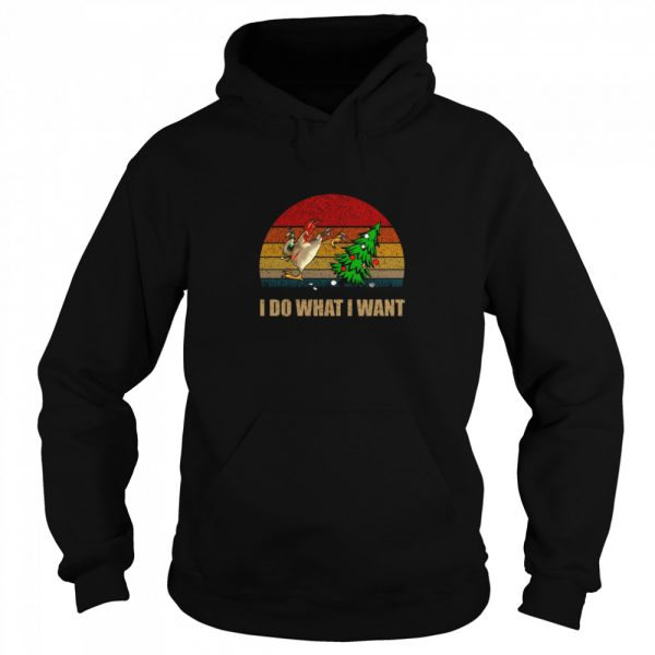 Chicken I Do What I Want Christmas  Unisex Hoodie