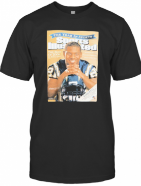 Cover Tee San Diego Chargers 2009 Ladainian Tomlinson T-Shirt