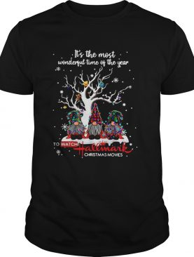 Its The Most Wonderful Time Of The Year To Watch Hallmark Christmas Movies shirt