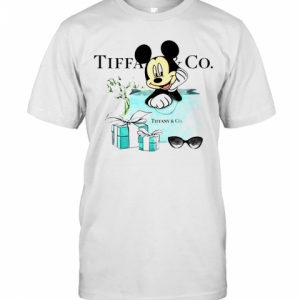 Mickey Mouse Tiffany And Co T-Shirt Classic Men's T-shirt