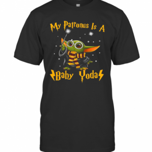 My Patronus Is A Baby Yoda T-Shirt Classic Men's T-shirt