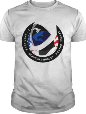 Nasa Demo 2 Behnken Hurley Dragon SpaceX shirt
