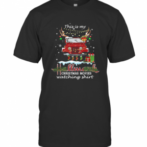 This Is My Hallmark Christmas Movies Watching T-Shirt Classic Men's T-shirt