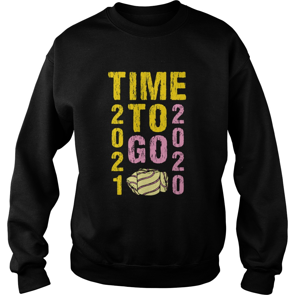 Time To Go 2020 Goodbye 2020 Hello 2021 Gold And Pink Toilet Paper  Sweatshirt