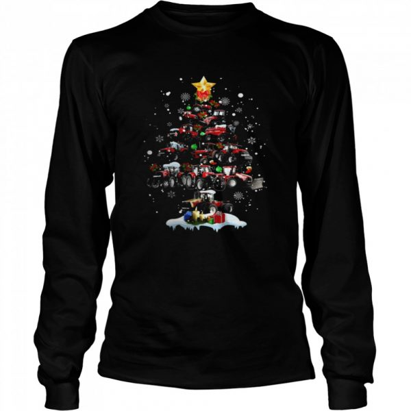 Tractor Tree  Long Sleeved T-shirt