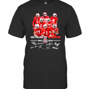 130 Years Of Ohio State Buckeyes 1890 2020 Signatures T-Shirt Classic Men's T-shirt