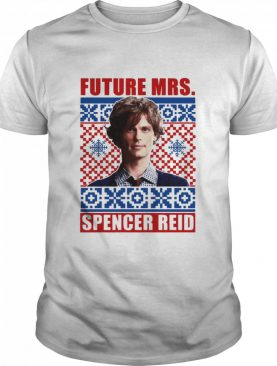 Criminal Minds Mrs Spencer Reid Holiday Ugly shirt