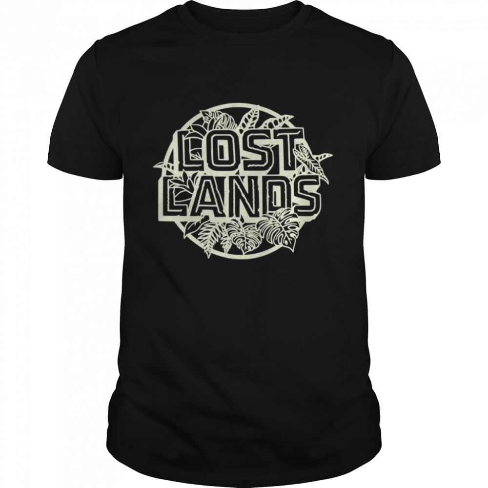 Excision Merch Lost Lands Foliage  Classic Men's T-shirt