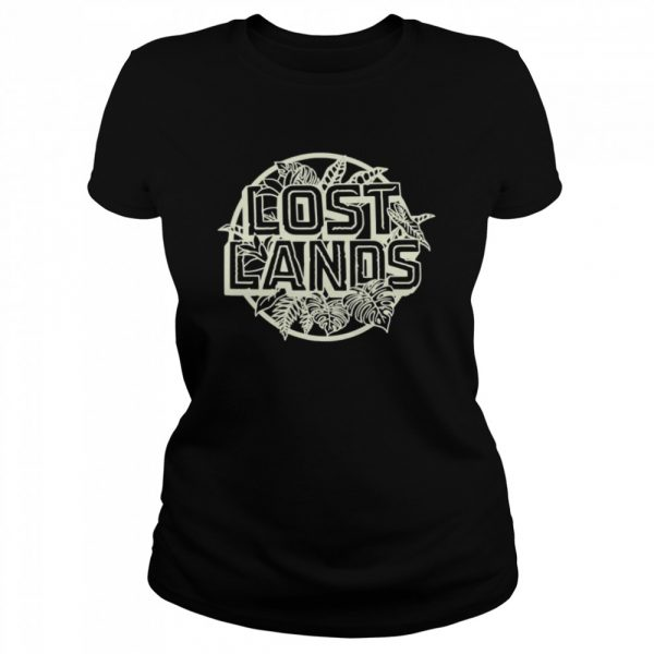Excision Merch Lost Lands Foliage  Classic Women's T-shirt