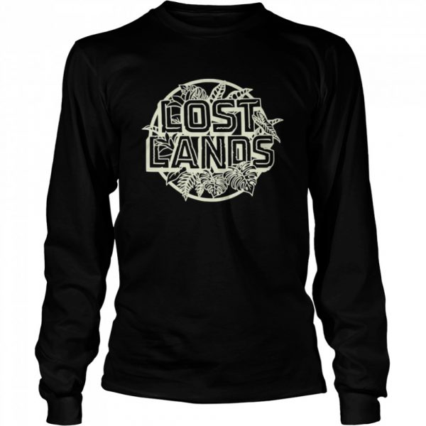Excision Merch Lost Lands Foliage  Long Sleeved T-shirt