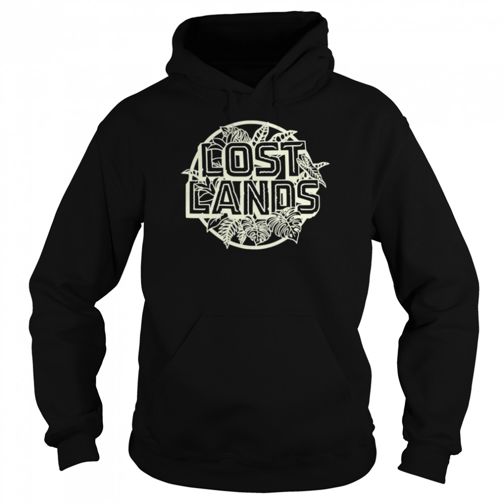 Excision Merch Lost Lands Foliage  Unisex Hoodie