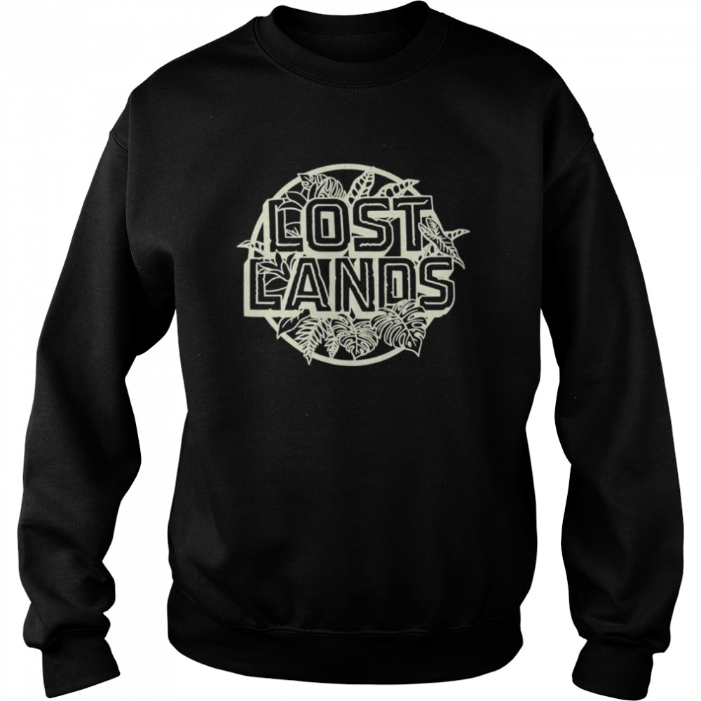 Excision Merch Lost Lands Foliage  Unisex Sweatshirt